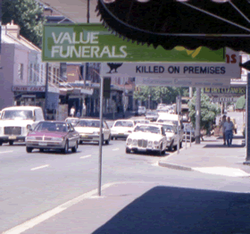 Darlinghurst Syddney 1980's