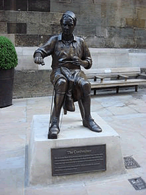 Statue Cordwainer London