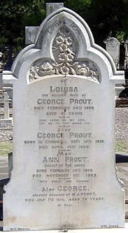 Grave George Prout