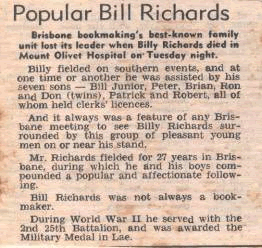 Popular Bill Richards